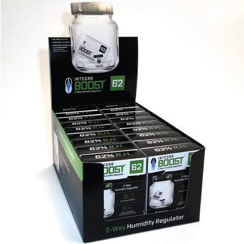 INTEGRA 8g 2way Humidity Control 62% R.H.  Preserve up to 14g of flowers in a sealed container.