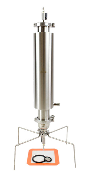 PRESSURISED CLOSED COLUMN 450g 1LB EXTRACTORS