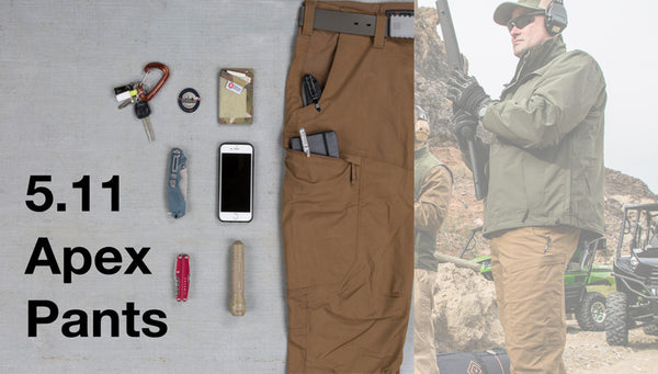 Drilling down on the 5.11 Tactical Apex Pants