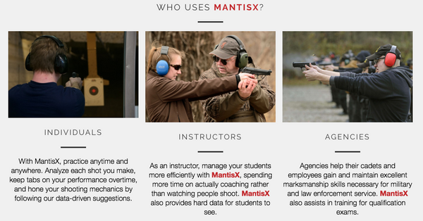 MantisX Firearms Training System Australia and New Zealand