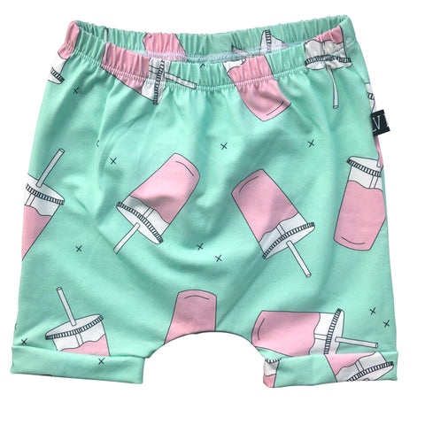 Milk Shake Harem Shorts