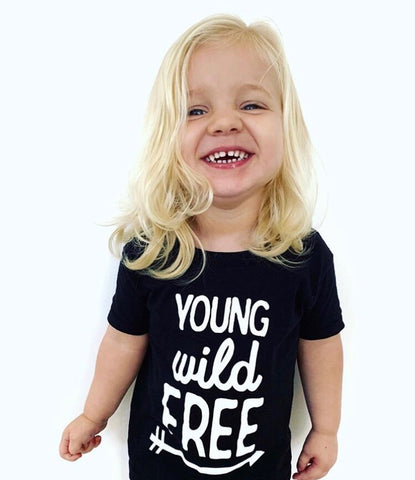 Young Wild Free Tee/Muscle Tee