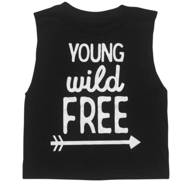 Young Wild Free Muscle Tee