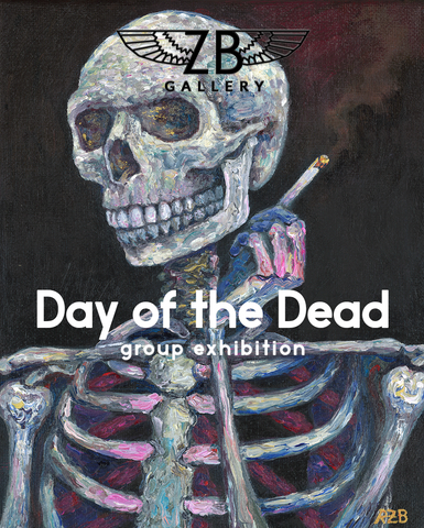 Day of the Dead Group Art Exhibition at ZB Gallery Flyer