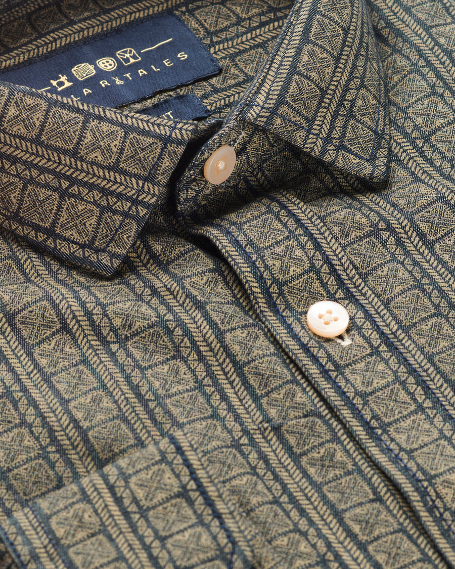 Parkvale Print Casual Shirt