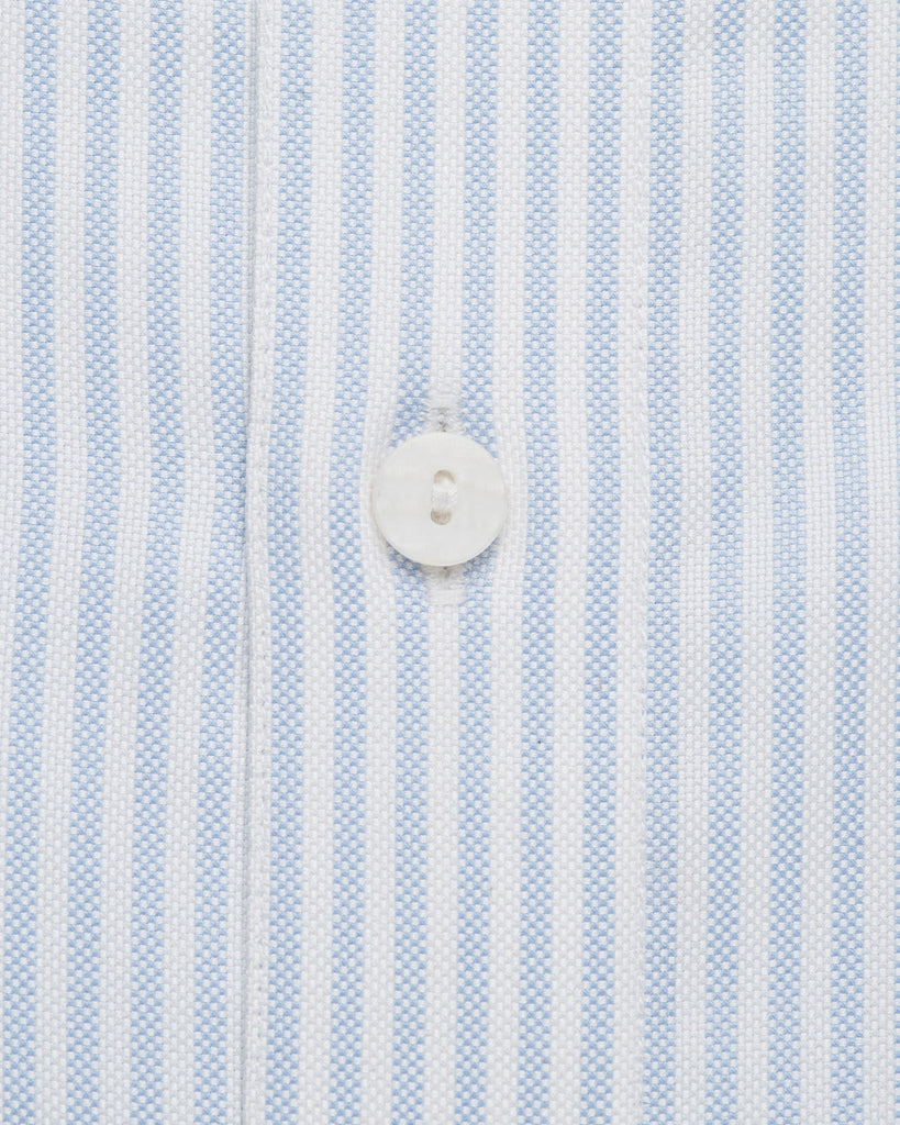 Business Casual Shirts - Bengal Stripe Oxford - Blue
