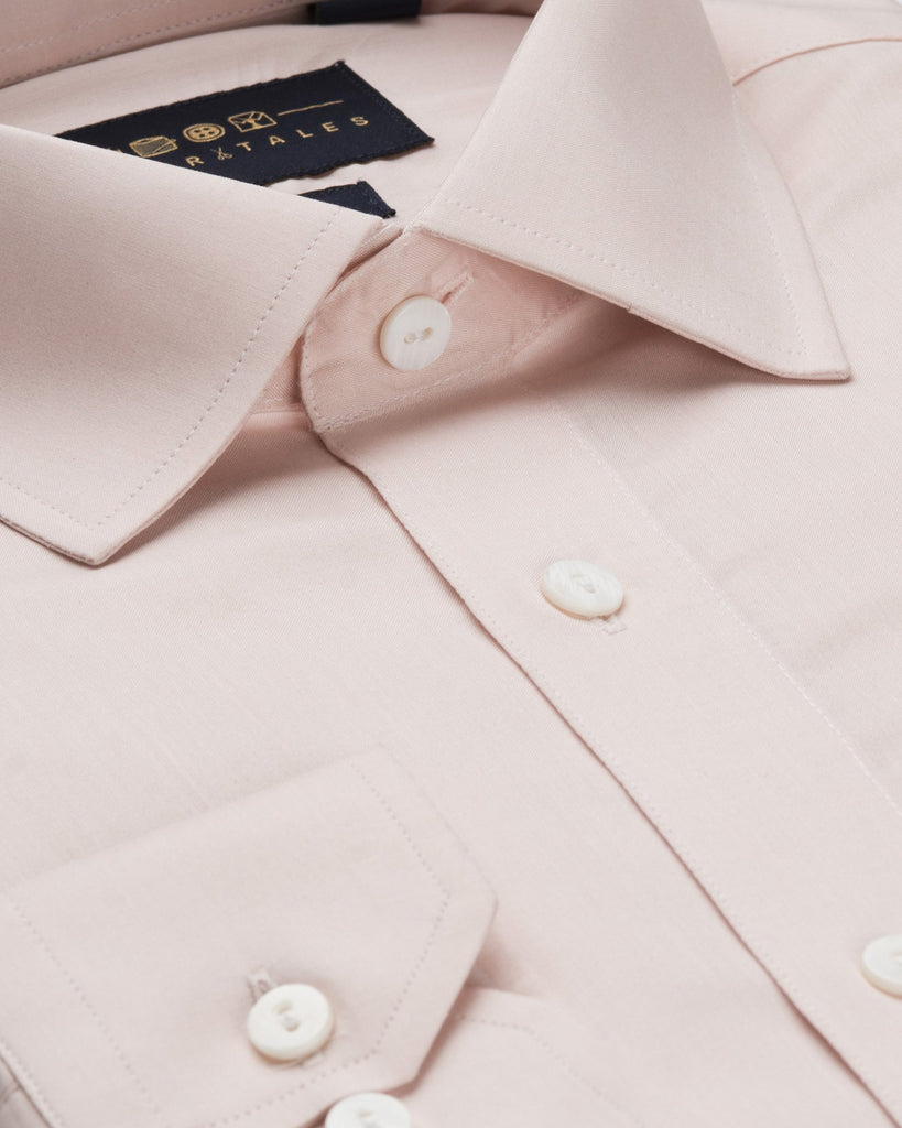 Business Casual Shirts - Chambray - Pink