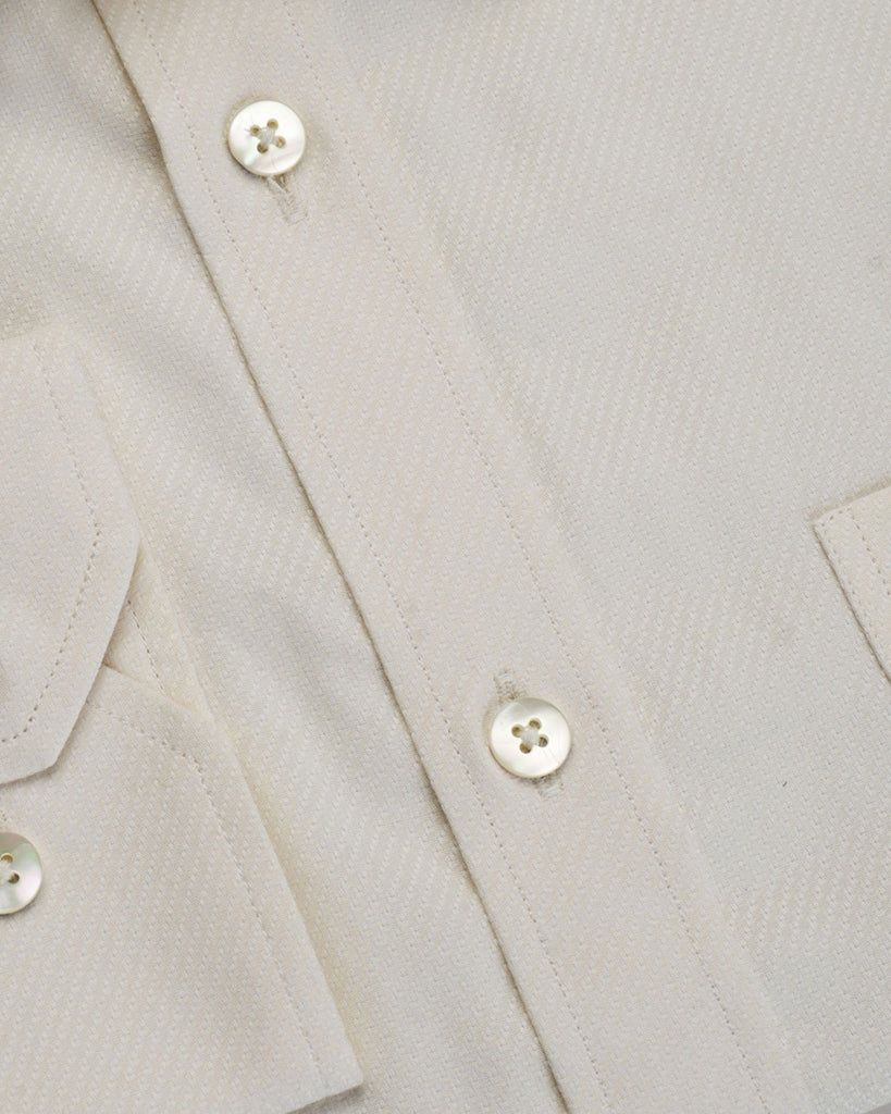 Business Casual Shirts - Fawn Micro Pattern Shirt