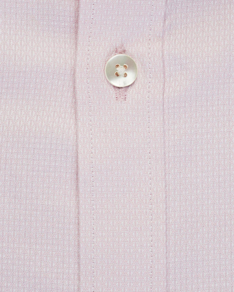 Business Casual Shirts - Pink Micro Pattern Shirt