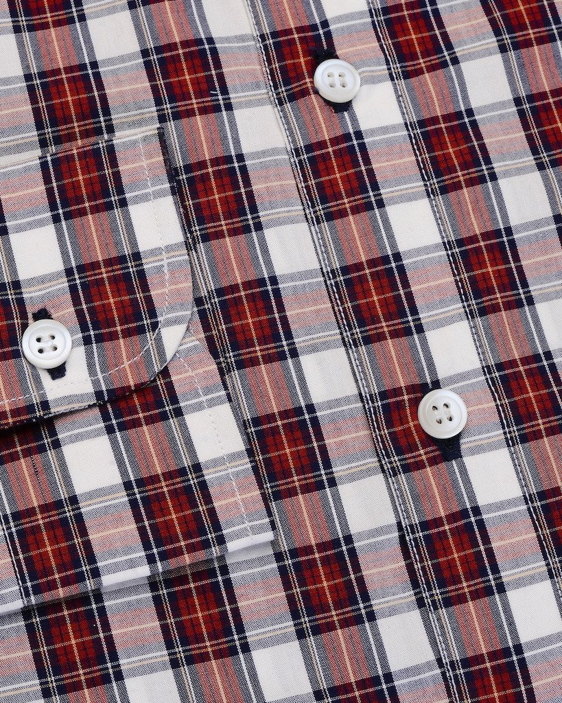 Casual Shirts - Red And Blue Multi Check