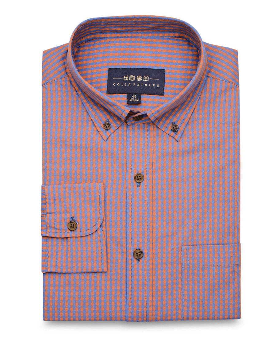 Casual Shirts - Red Gingham Check