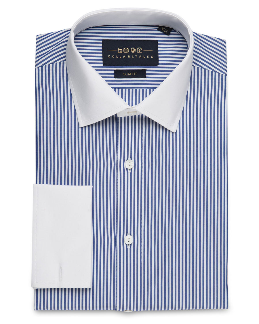 Dress Shirts - Classic Banker's - Royal Blue