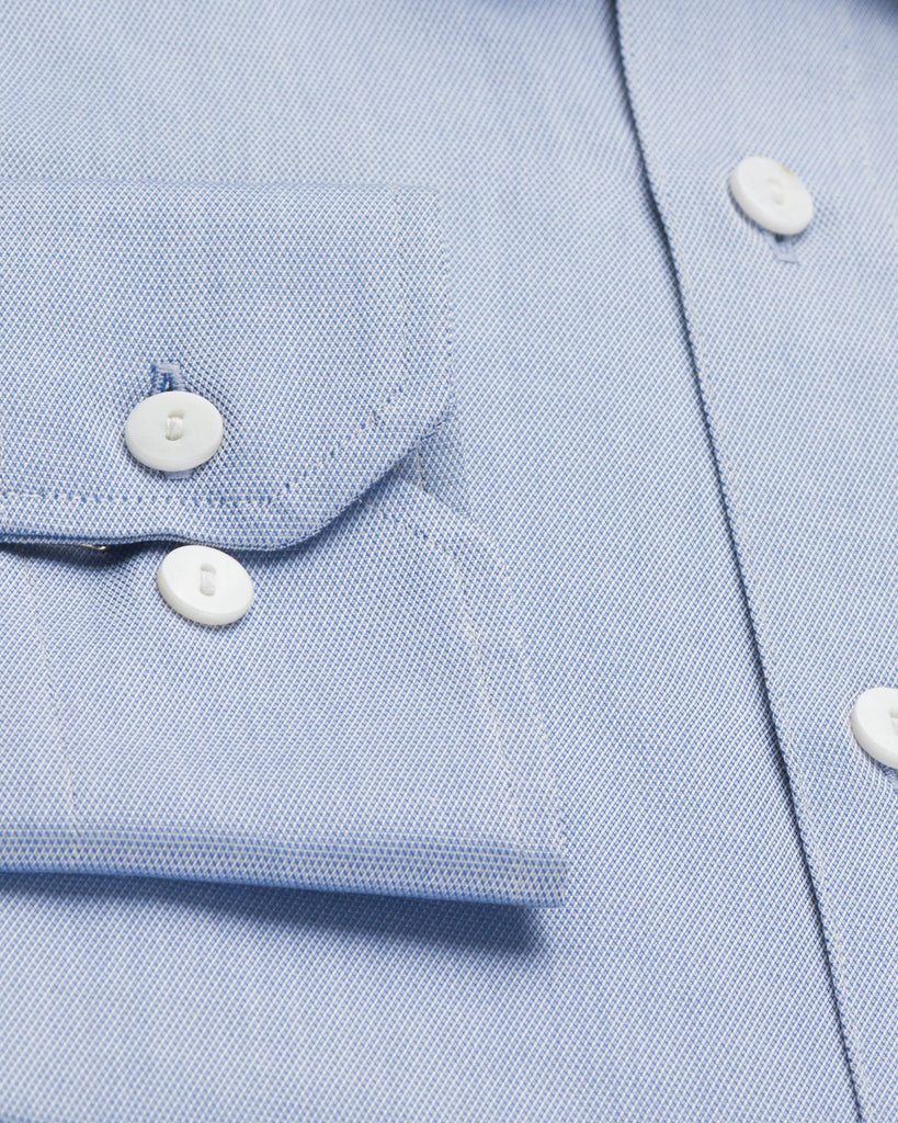 Dress Shirts - Dobby Shirt - Blue