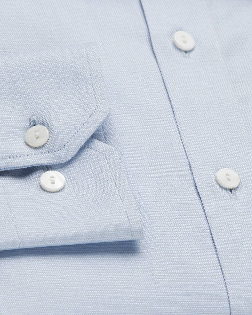 Dress Shirts - Dobby Shirt - Light Blue