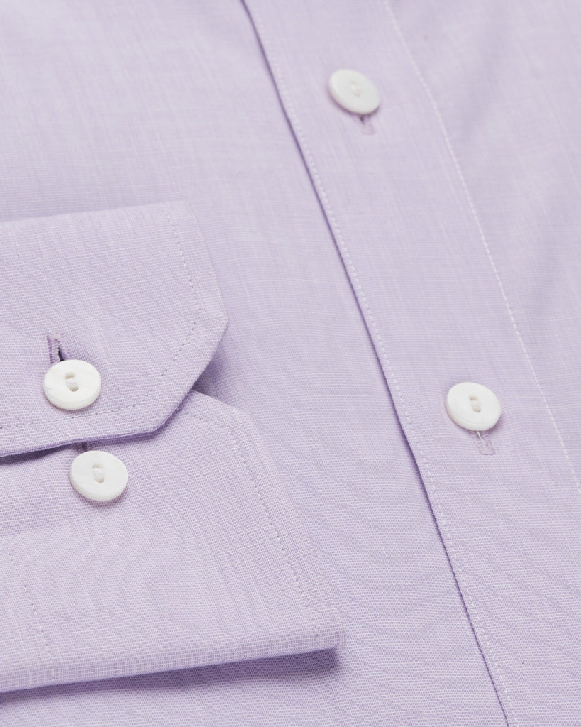 Dress Shirts - End-on-End - Lilac
