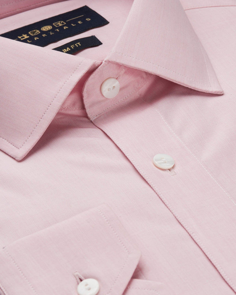 Dress Shirts - End-on-End - Pink