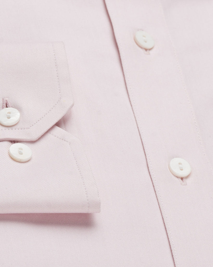 Dress Shirts - Fine Twill - Pink
