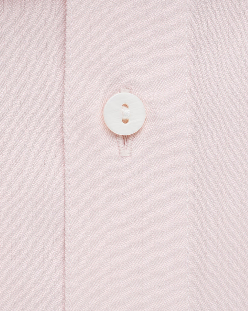 Dress Shirts - Herringbone - Pink