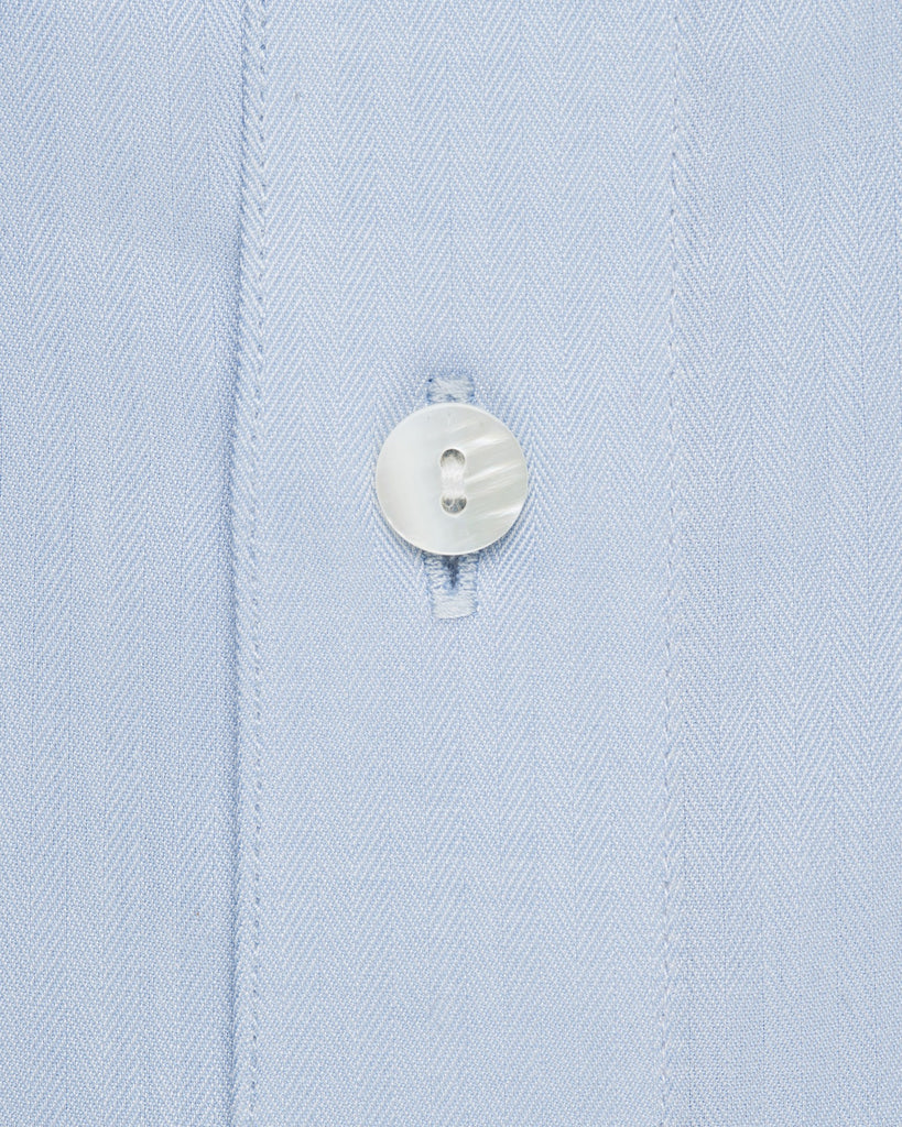 Dress Shirts - Herringbone - Sky Blue