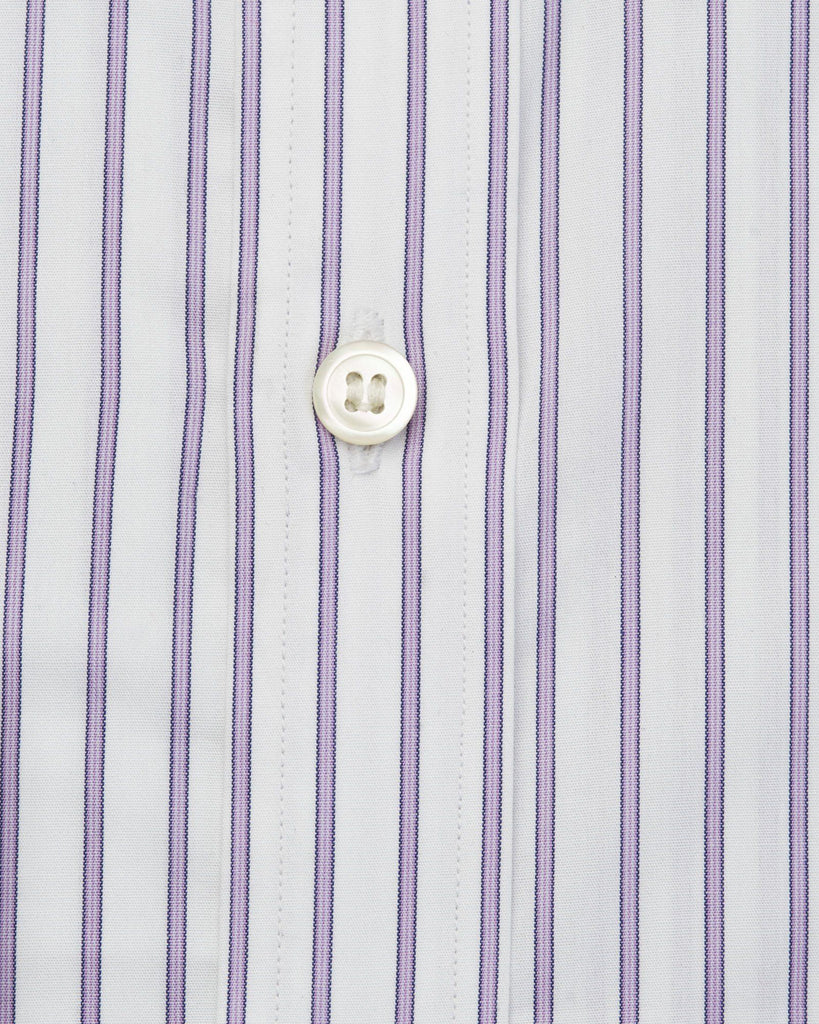 Dress Shirts - Lilac & White Stripe Shirt ( 40 & 42 Only )