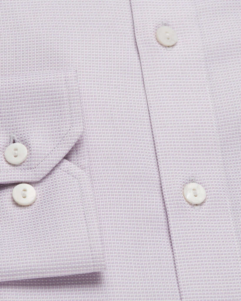 Dress Shirts - Micro Check - Pink