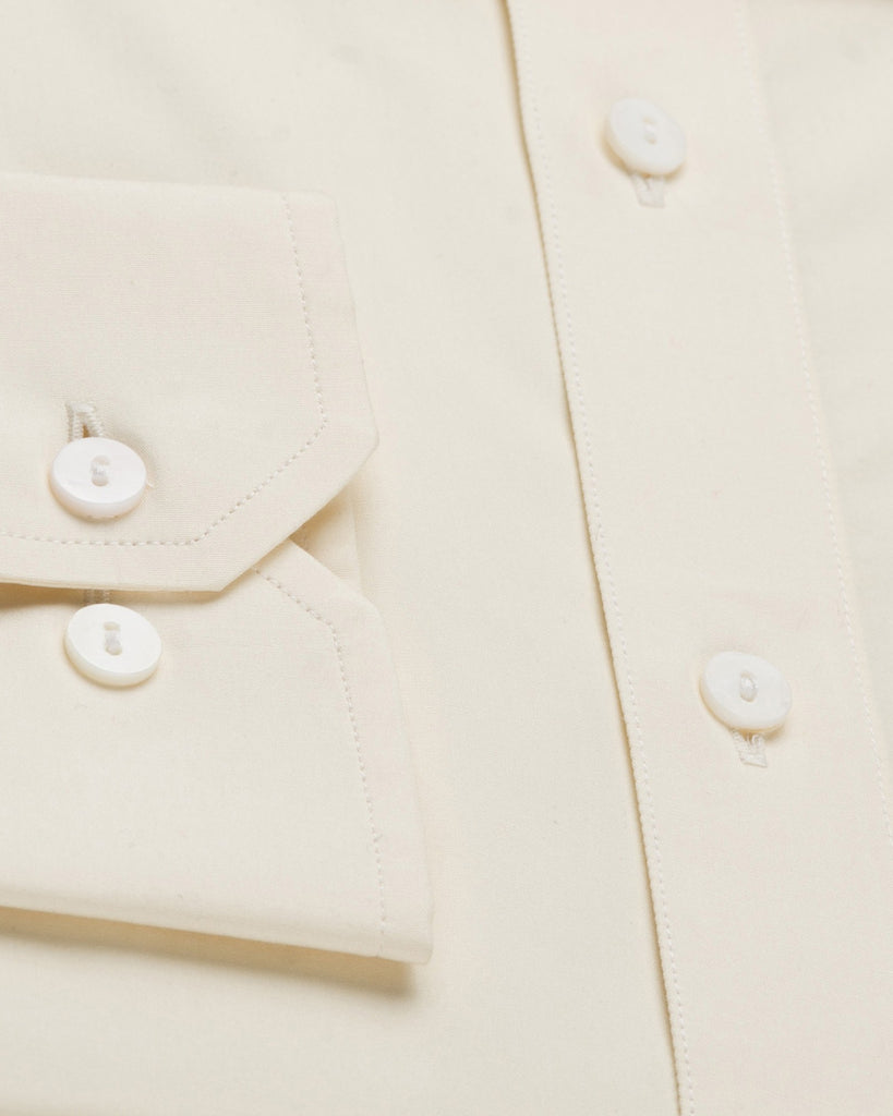 Dress Shirts - Poplin Shirt - Yellow