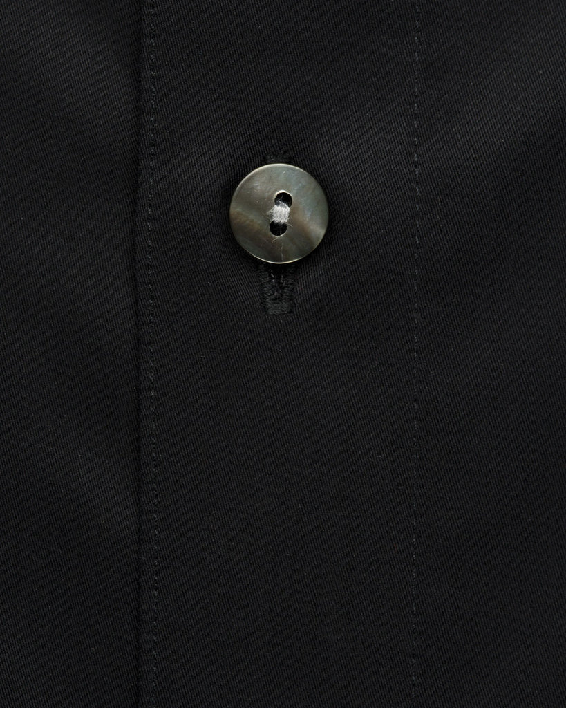 Dress Shirts - Satin - Black