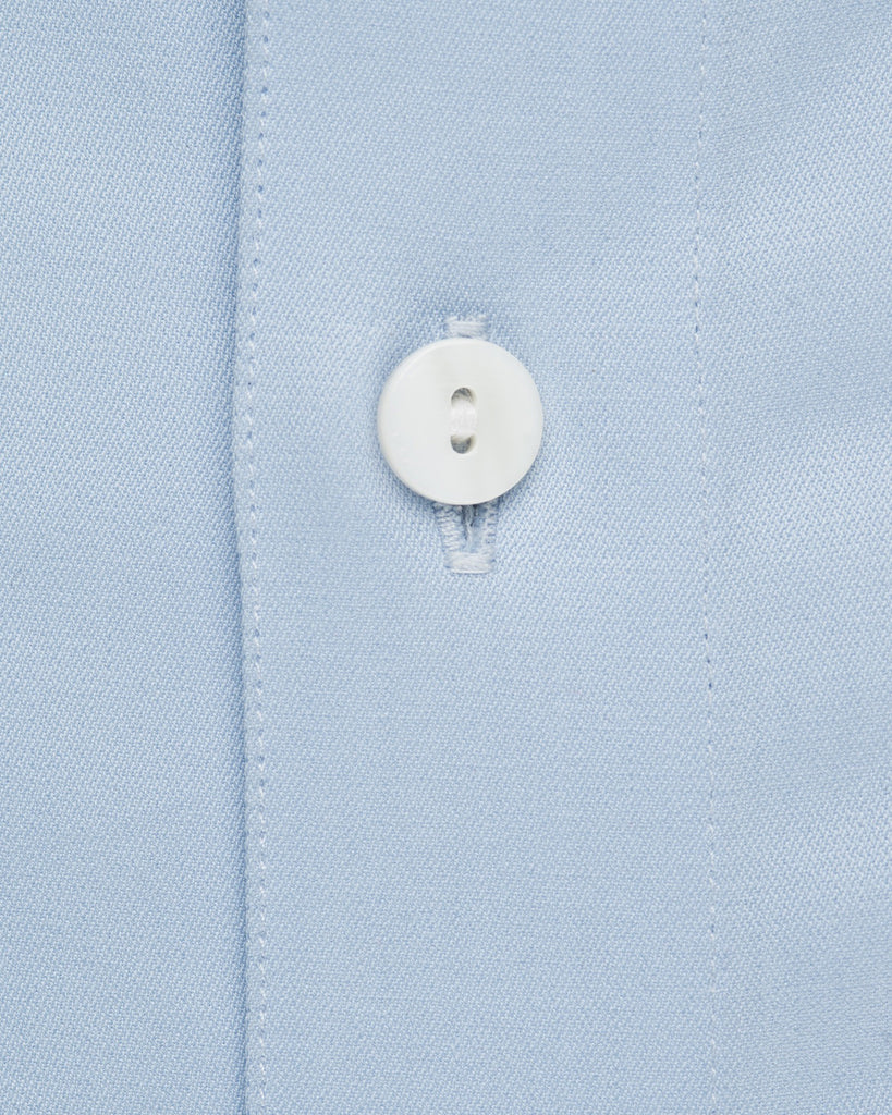 Dress Shirts - Satin - Blue