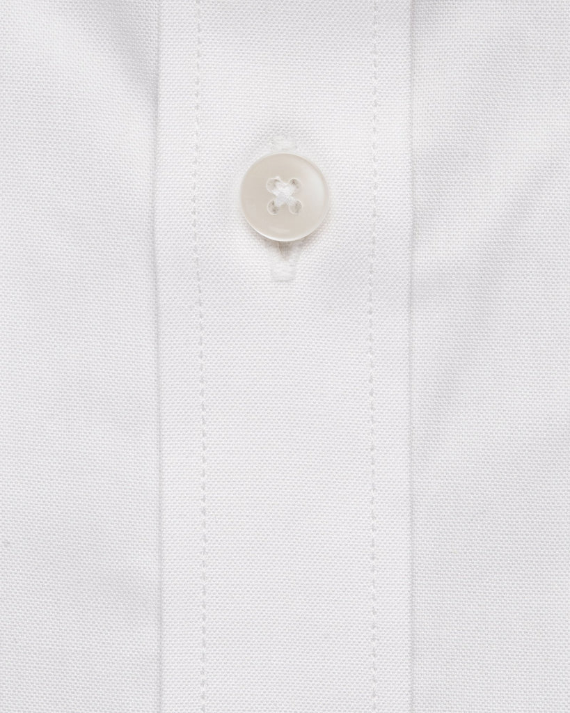 Dress Shirts - White Stripe Dobby Shirt