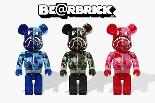 A BATHING APE × BE@RBRICK