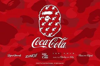A BATHING APE × COCA-COLA