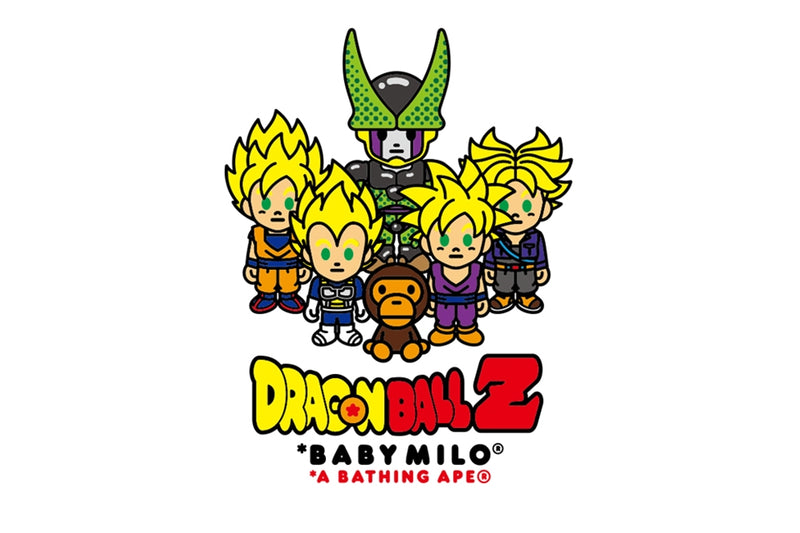 BAPE × DRAGON BALL Z