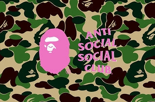 A BATHING APE x ANTI SOCIAL SOCIAL CLUB