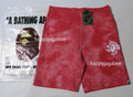 A BATHING APE TIE DYE SWEAT SHORTS - happyjagabee store