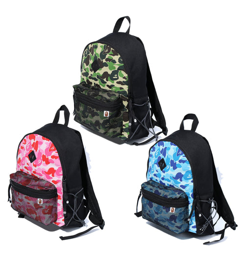 A BATHING APE ABC CAMO BUNGEE CORD DAY PACK