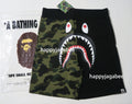 A BATHING APE 1ST CAMO SHARK SWEAT SHORTS - happyjagabee store