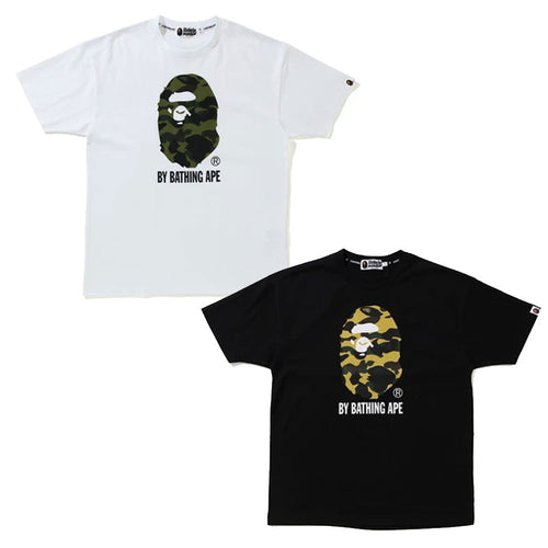 A BATHING APE Ladies' 1ST CAMO BY BATHING OVERSIZED TEE