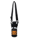 A BATHING APE BABY MILO STORE WATER BOTTLE with BOTTLE COVER - happyjagabee store