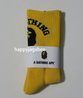 A BATHING APE COLLEGE SOCKS - happyjagabee store