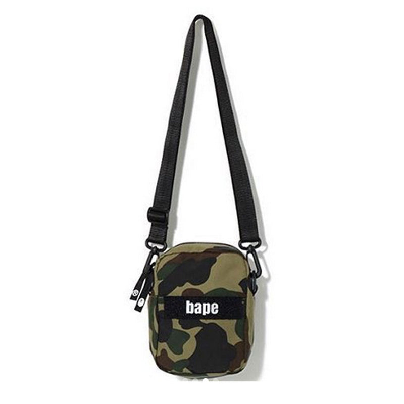 A BATHING APE 1ST CAMO MILITARY SHOULDER BAG - happyjagabee store