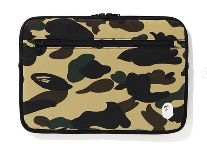 A BATHING APE 1ST CAMO PC CASE for 15 inch Laptop - happyjagabee store