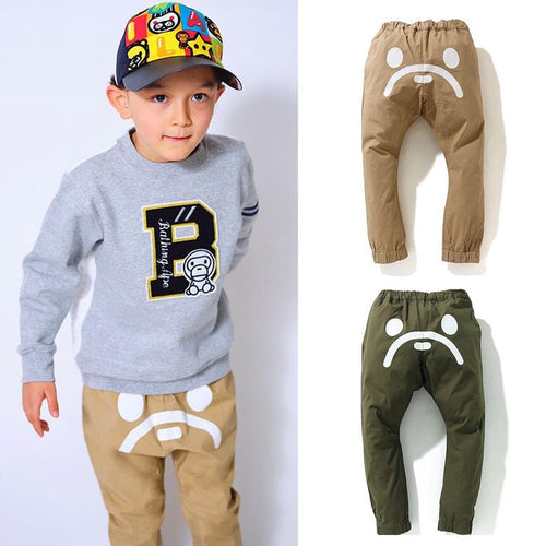 A BATHING APE BAPE KIDS BABY MILO JOGGER PANTS New