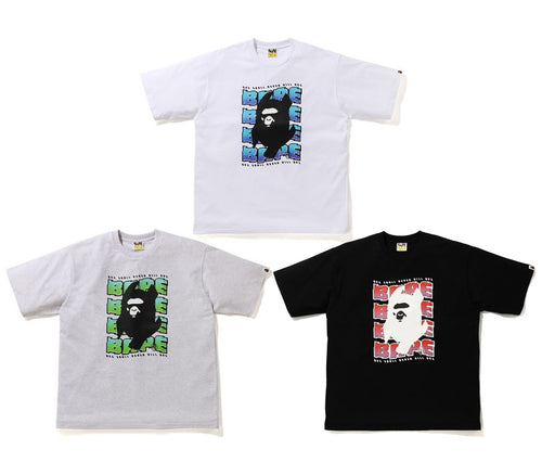 A BATHING APE DISTORITIN RLX TEE