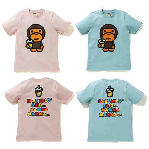 A BATHNIG APE Ladies' BABY MILO JUICE SUMMER TEE