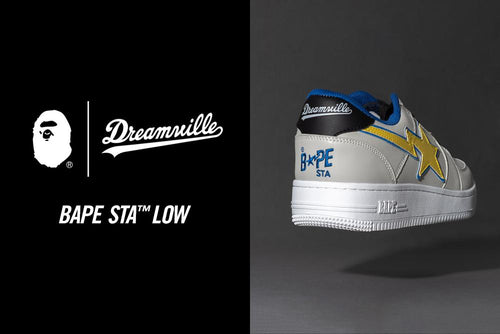 A BATHING APE BAPE x DREAMVILLE BAPE STA LOW
