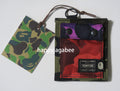 A BATHING APE PORTER MIX CAMO WALLET - happyjagabee store
