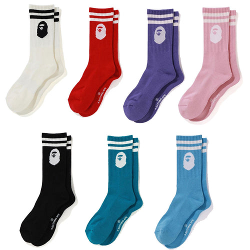 A BATHING APE APE HEAD SOCKS - happyjagabee store