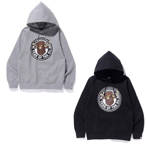 A BATHING APE YEAR OF THE Ox PULLOVER HOODIE