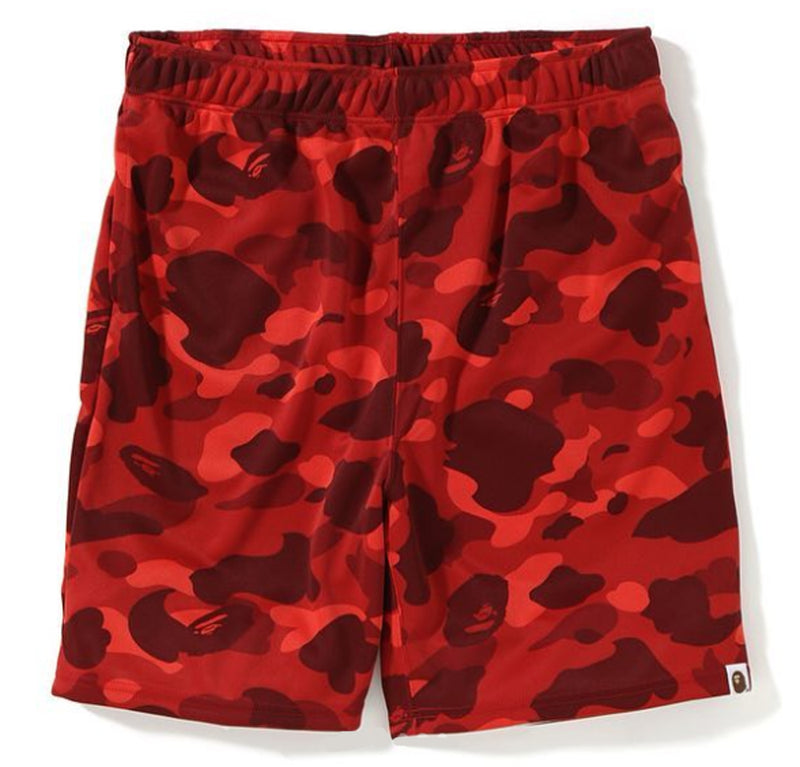 A BATHING APE COLOR CAMO JERSEY SHORTS - happyjagabee store