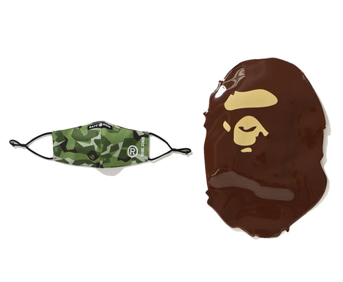 A BATHING APE SPRINTER CAMO MASK